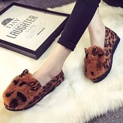 Shoespie Fashion Furry Loafers