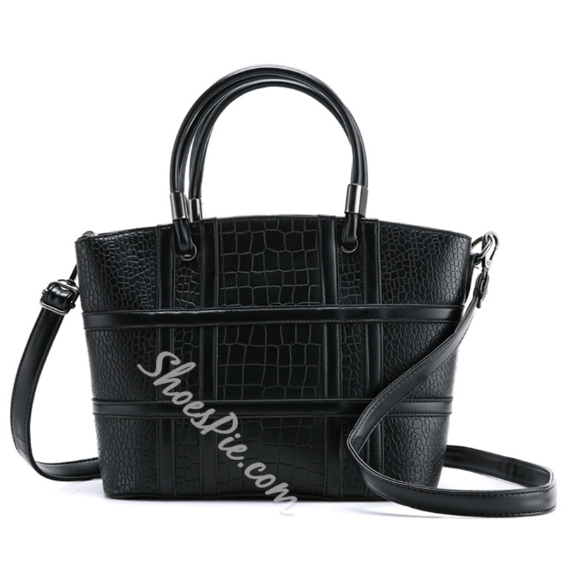 Shoespie Cross Thread Handbag
