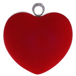 Shoespie Fashion Heart Shape Banquet Clutch