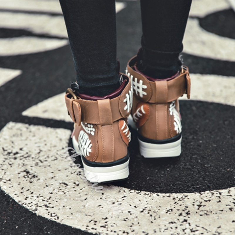 Shoespie Atheleisure Patchwork Sneakers