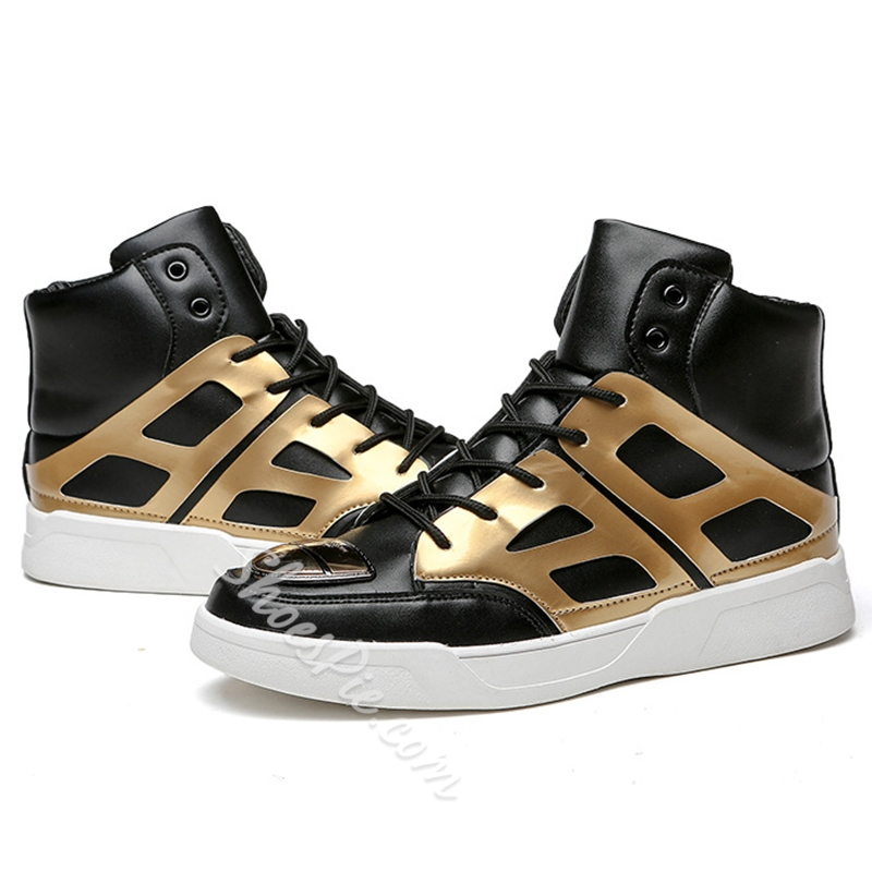 Shoespie Golden Cut Men's Sneakers