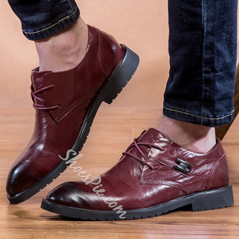 Shoespie Laceup Men's Business Shoes