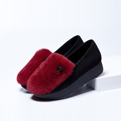 Shoespie Cony Hair Flats