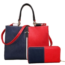 Shoespie Contrast Color Simple Two Bag Sets