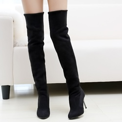 3 Inch Thigh High Boots - Shoespie.com