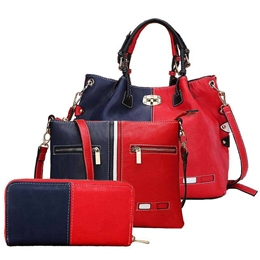 Shoespie Contrast Color Three Bag Sets