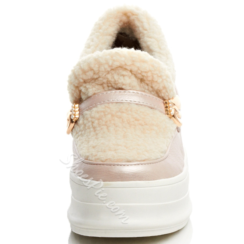 Shoespie Cute Angle Wings Floss Winter Sneakers
