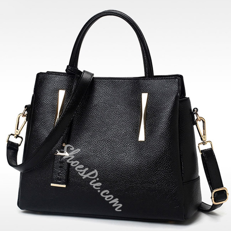 Shoespie Soft Leather Handbag
