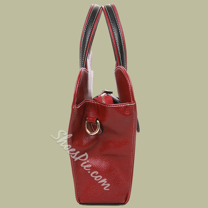 Shoespie Luck Ruyi Shape Medium Tote Bag
