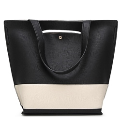 Shoespie Chic Contrast Color Handbag