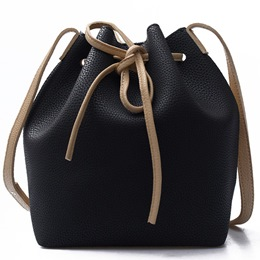 Shoespie Drawstring Handbag