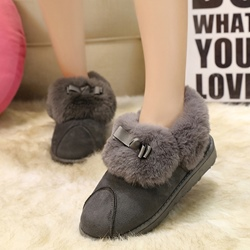 Shoespie Furry Snow Boots
