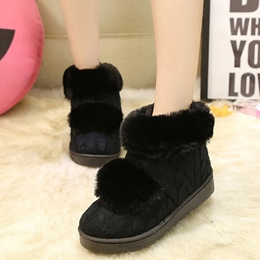 Shoespie Warm Furry Snow Boots