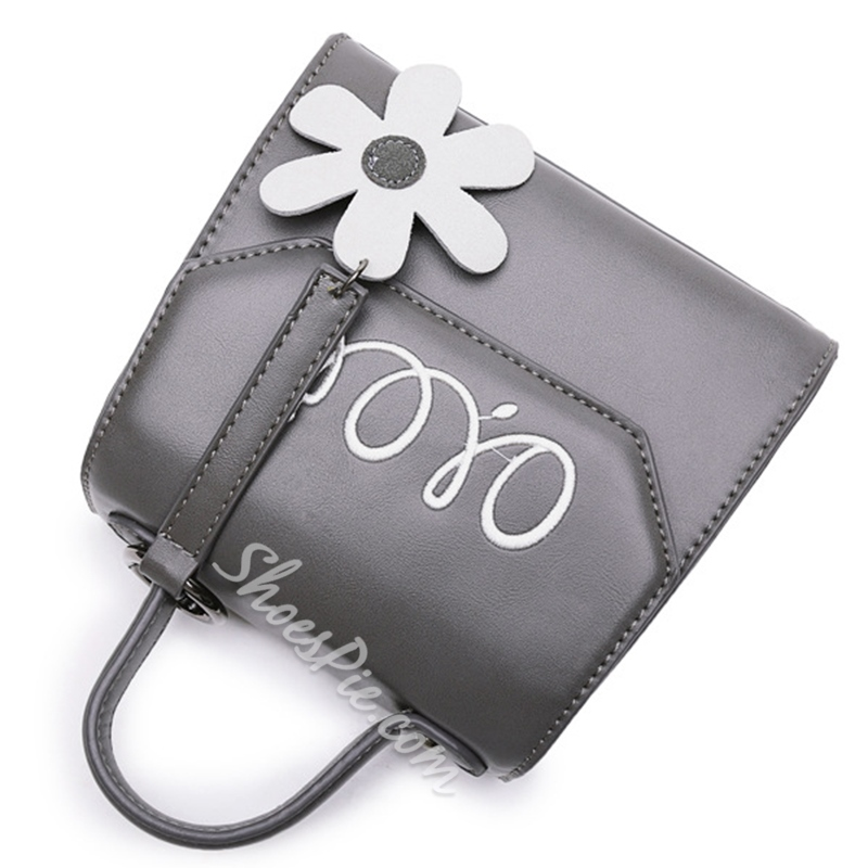 Shoespie Mini Letter Print Handbag