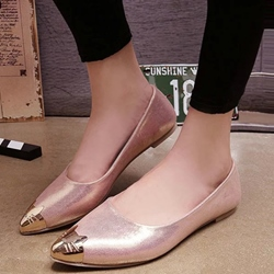 Shoespie Kitty Cap Toe Loafers