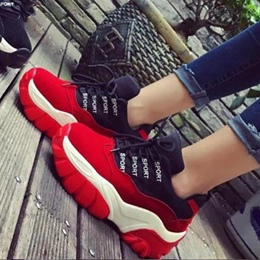 Shoespie Chic Letters Sneakers