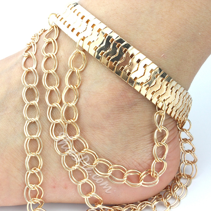 Shoespie Golden Anklet