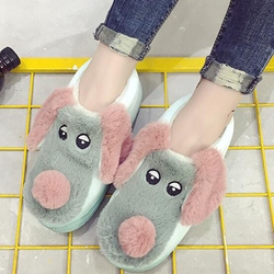 Shoespie Lovely Puppy Shape Loafers
