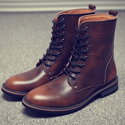 Shoespie Men's Boots to Wear with Jeans