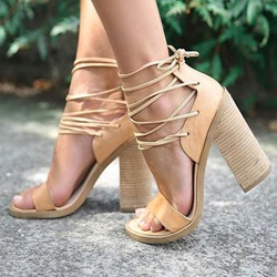 Shoespie Lace Up Shoes