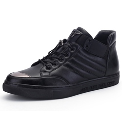 Shoespie Black Fashion Sneakers