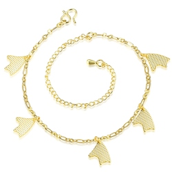 Shoespie Golden Chain Anklet