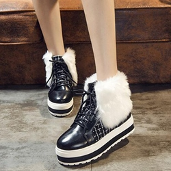 Shoespie Round Toe Winter Must Have Snow Boots