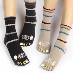Shoespie Cute Warm Toe Socks