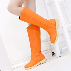 Shoespie Comfortable Knee High Snow Boots
