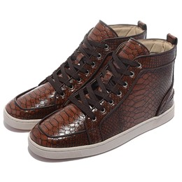 Shoespie New Dark Brown Men's Shoes
