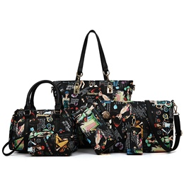 Shoespie Colorful Printed Bag Sets
