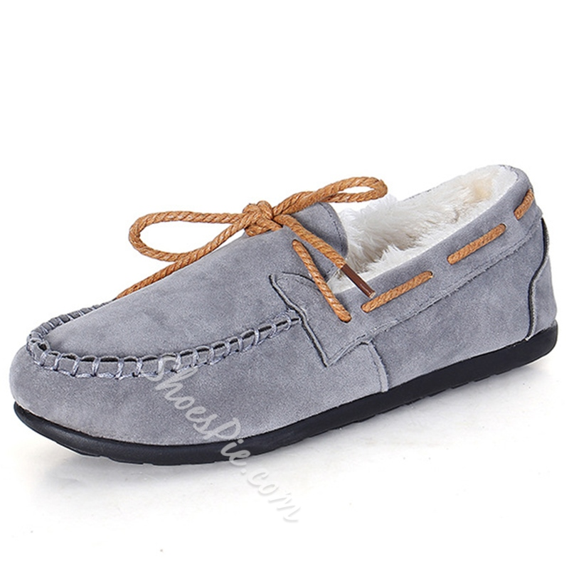 Shoespie Wnter Warm Casual Loafers