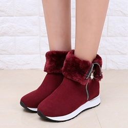 Shoespie Round Toe Sporty Style Snow Boots