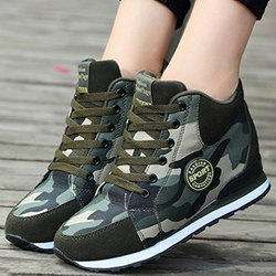 Shoespie Camo Sneakers