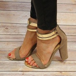 Shoespie Chuncky Heel Sandals