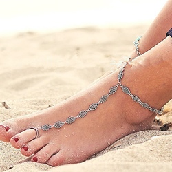 Shoespie Hollow Out Anklet for Women