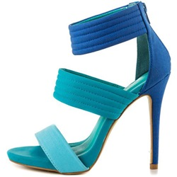 Shoespie Two Tones Strappy Sandals