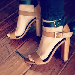 Shoespie Duo Tone Sandals