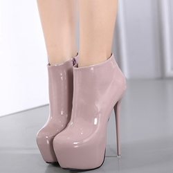 Shoespie Trendy Platform High Heel Ankle Boots