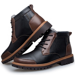 Shoespie Floss Patchwork Men's Boots