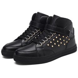 Shoespie Flat Rivets Men's Skater Shoes