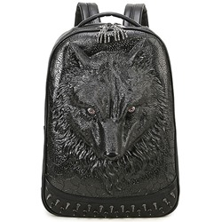 Shoespie 3D Animal Print Backpack