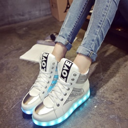 Shoespie LOVE Luminous Sneakers