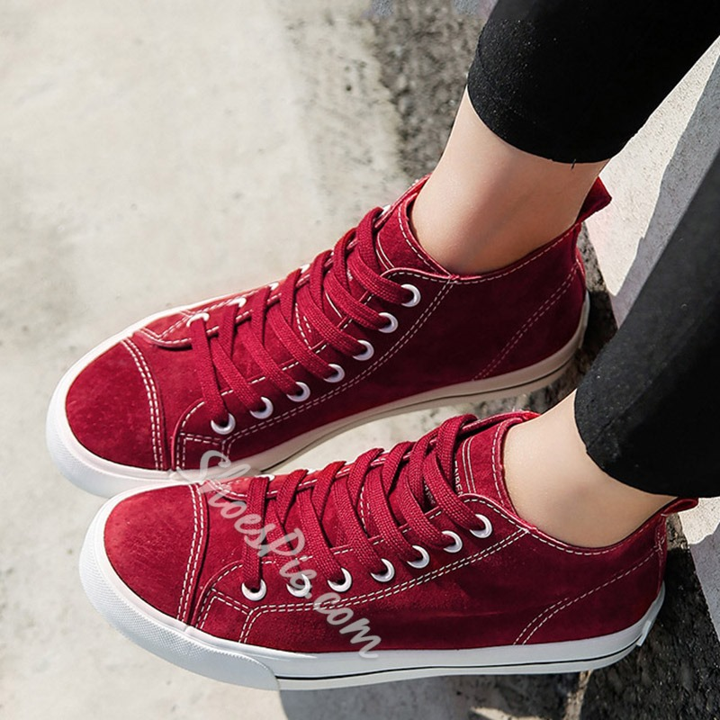 Shoespie Treading Lace Up Sneakers