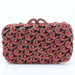 Shoespie Rhinestone Banquet Cluth Bag