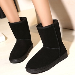 Shoespie Simply Multi Color Flat Snow Boots