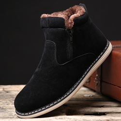 Shoespie Slip on Men's Casual Boots