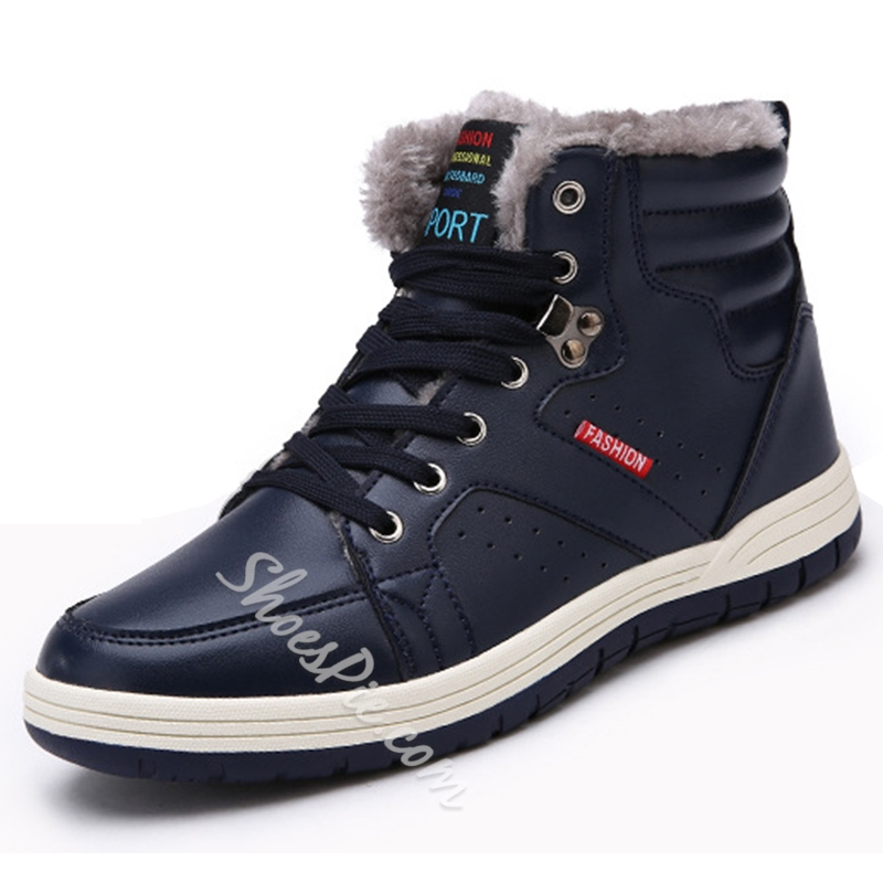 Shoespie Men's Winter Boots