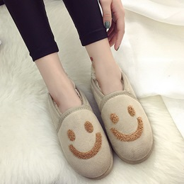 Shoespie Casual Smile Face Loafers