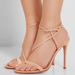 Shoespie Nude Color Strappy Sandals